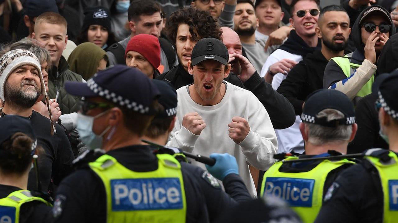Australien: Festnahmen und Verletzte bei Demos gegen Corona-Maßnahmen