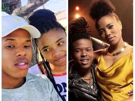 Nigerians react to throwback and present pictures of Nasty C and girlfriend