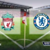 EPL : Liverpool Vs Chelsea Starting XI and Match build up