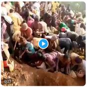 Reactions As Congolese Discover A Mountain Full Of Gold. (Video)