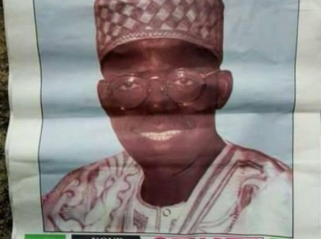Bola Tinubu's Campaign Poster As A Senator Under The Social Democratic Party In 1992