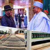 Here are photos of the Railway Station President Buhari named after Goodluck Jonathan