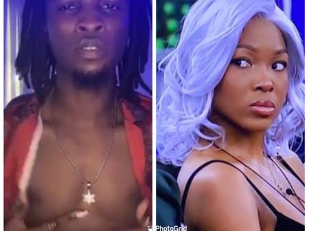 After A Lady Was Spotted Touching Laycon In New Video, See What Vee Said That Sparked Reactions
