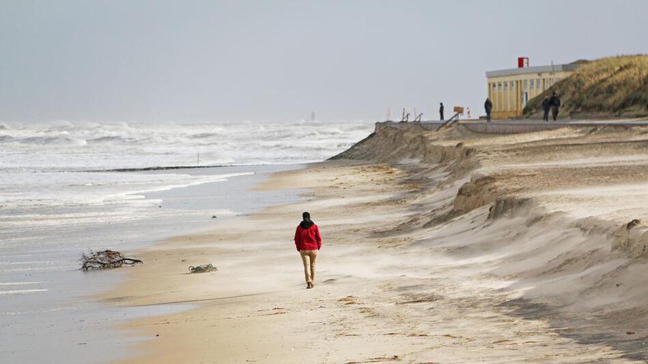 Keine Sturmschäden an Niedersachsens Nordseeküsten