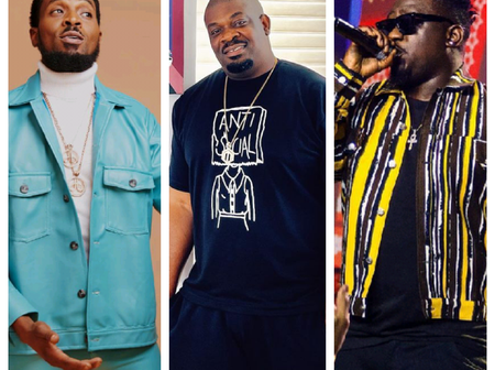 Fan Claims D'Banj & Wande Coal Knew About Don Jazzy's Marriage And Still Kept It Top Secret