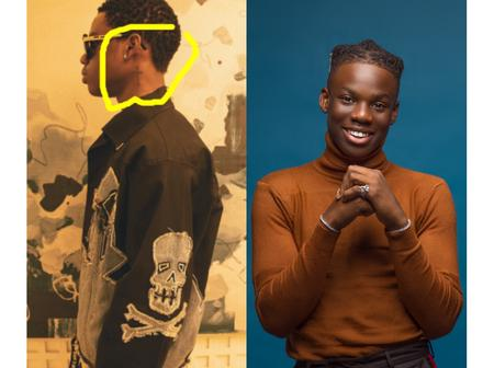 People react to Rema's picture after they noticed this on his body