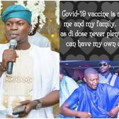 Covid-19 Vaccine Not For Me and My Family- Says Kogi State Deputy Governor's Chief Press Secretary