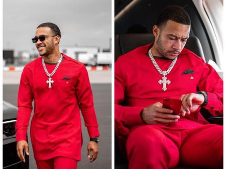 29 Times Memphis Depay Served Us Fashion Goals.