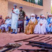 Nigerian's React To Zamfara Bandits Surrendering, Ask The Bandit To Say The Source Of Their Weapons