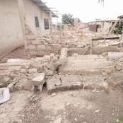 Pastor Seeks For Help After Land Guards Destroyed His Properties At Kasoa