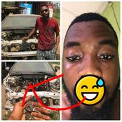 After Asking Twitter Users Where He Can Get A Car Of 50k, See The Car He Was Spotted With (Photos)
