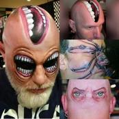 Check out some of the most weird and ridiculous tattoos ever.