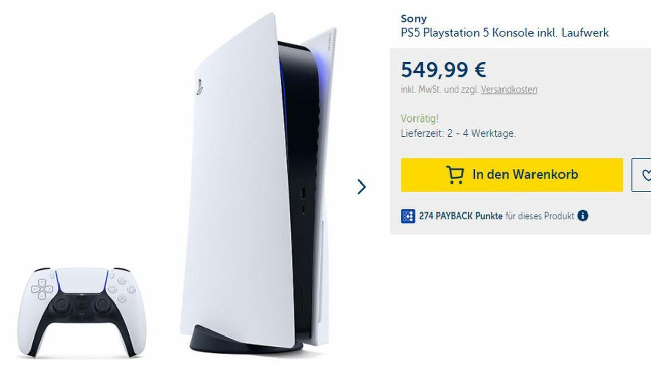 PS5 kaufen: Bei MyToys ausverkauft, aber hier sichert ihr euch die Konsole