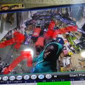 CCTV Footage Reveals The Face of Man Who Robbed A Shop In Surulere
