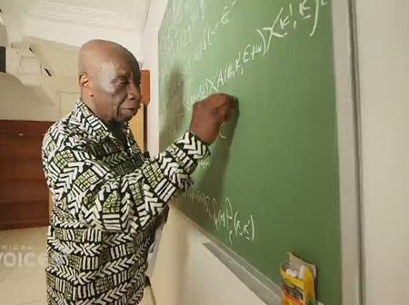 Professor Francis Kofi Ampenyim Allotey FGA OV- The Man With The Mathematical Brain