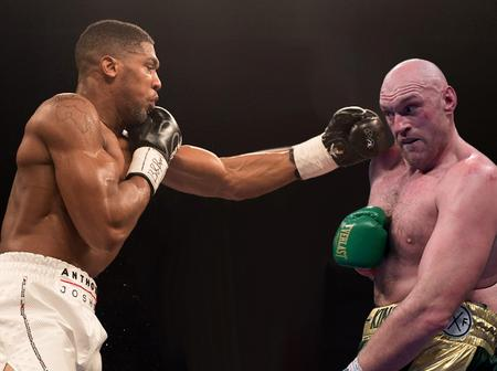 Boxing: Anthony Joshua, Tyson Fury Fight Will Be The 'Biggest' Prize Money Ever.