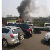 Protest Breaks out After Mother and Child Got killed By Policemen Chasing After 'Yahoo Boys'