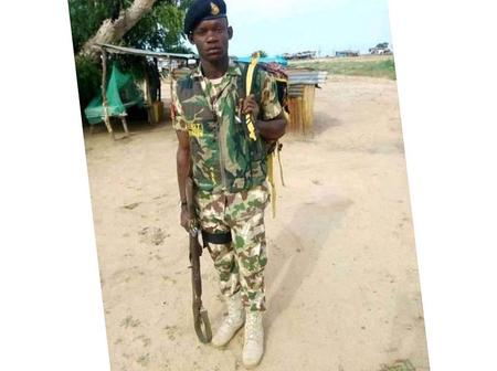 See the face of the solider sentenced to death for killing colleague
