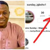 Barely 72 Hours After He Went Viral, Sunday Igboho Already Has Over 100K Followers On Instagram.
