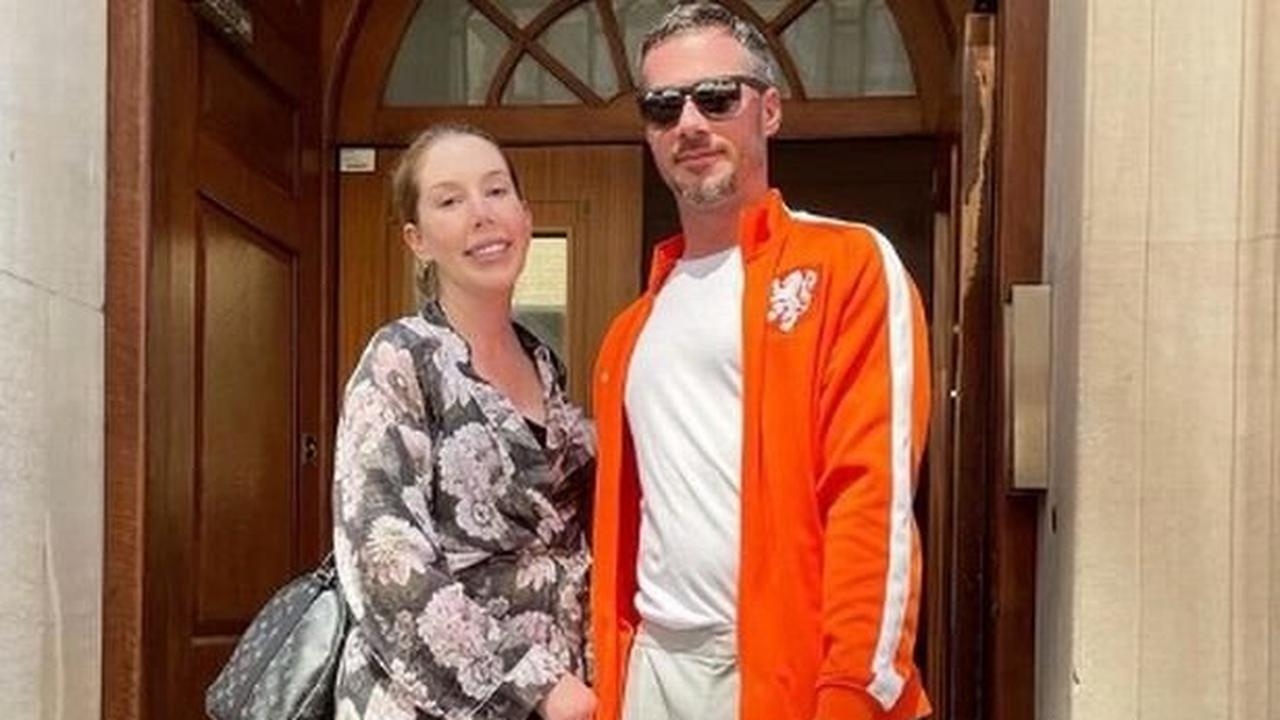 Katherine Ryan and partner Bobby announce sweet name of baby boy with new snaps