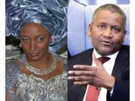 Here is the Pictures & Identity of Lady who rejected Aliko Dangote's marriage proposals 12 years ago