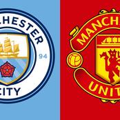Check out these facts and team news you should know before the Manchester United and city Derby