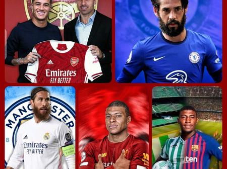 Deadline Day: All EPL Top Confirmed Transfer