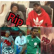 Sad: 3 Nigerian Footballers Who have Lost Their Mothers (Photos)