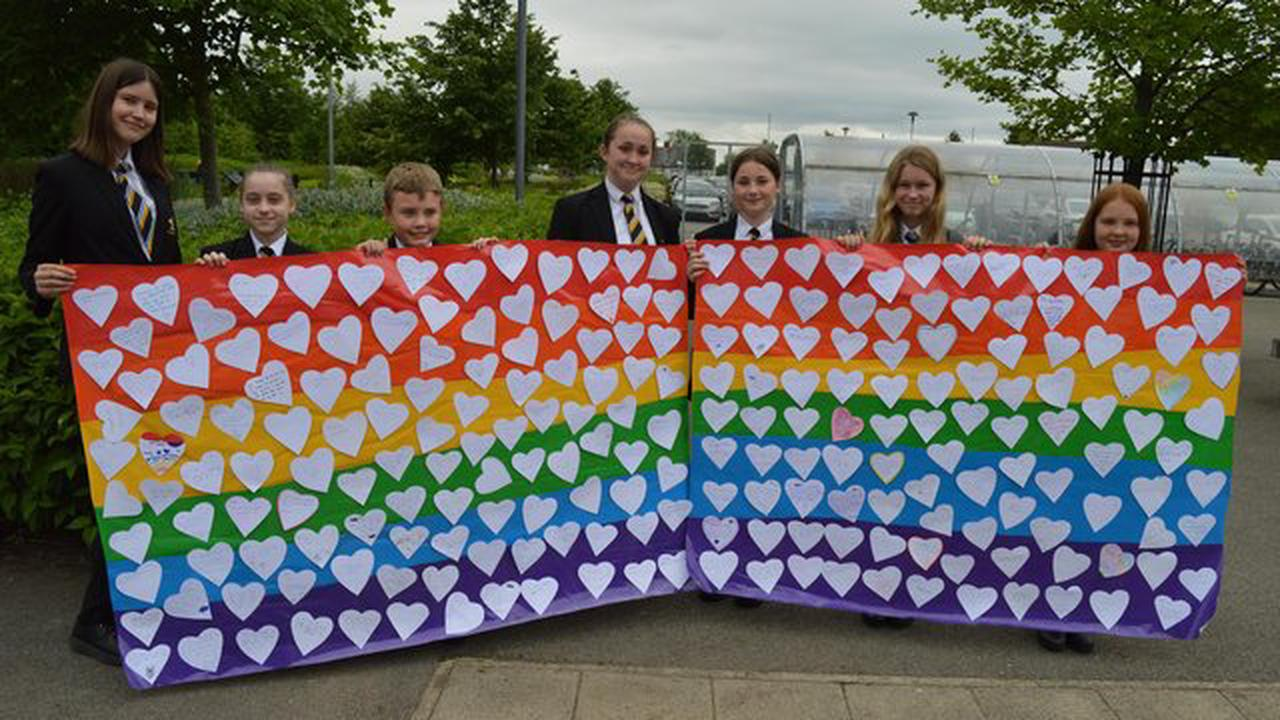 Derbyshire school shows support for LGBT+ youth during Diversity Week