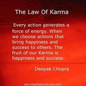 OPINION: Understanding The Laws Of Karma