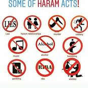 Dear Muslims Desist From These Acts, It's Haram In Islam.