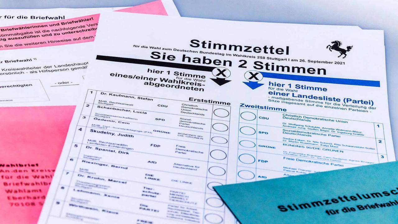 Stimmzettel bei der Bundestagswahl 2021 richtig ausfüllen: Bei diesen Fehlern wird er ungültig