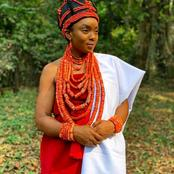 Have You See The Beauty Of Chioma Chukwuka In A Local Attire? (Photos)