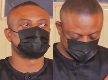 Sad Moment: Lawyer Maurice Ampaw Bows Down His Head In Tears At Her Wife's One Week Observation