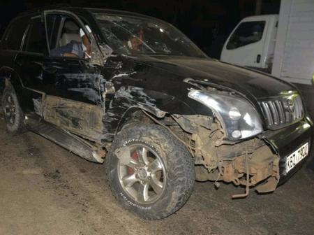 Mungu Mponye! Another Politician Involved In A Grisly Road Accident