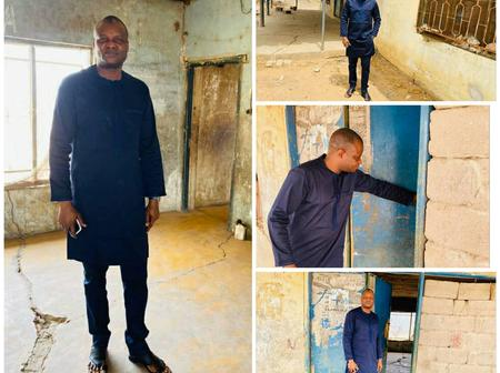 Back To Where It All Began: DCP Abba Kyari Visits The House He Stayed 17 Years Ago (See Photos)