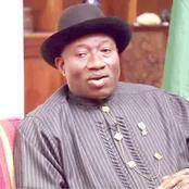 I Believe Buhari Is Not Sleeping, Says Jonathan On Insecurity.