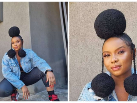 How do you position your head while sleeping? Fans drag Yemi Alade after she posted her hairstyle.