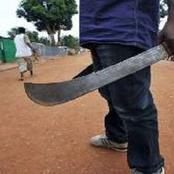 SAD: Man Inflicts Deep Cutlass Wounds On Mother And Daughter