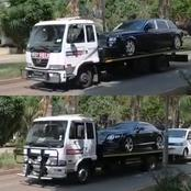 13 vehicles of a very well known pastor from Pretoria gets repossessed in daylight