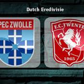 PEC Zwolle Vrs Twente Prediction Coming Up Later Today
