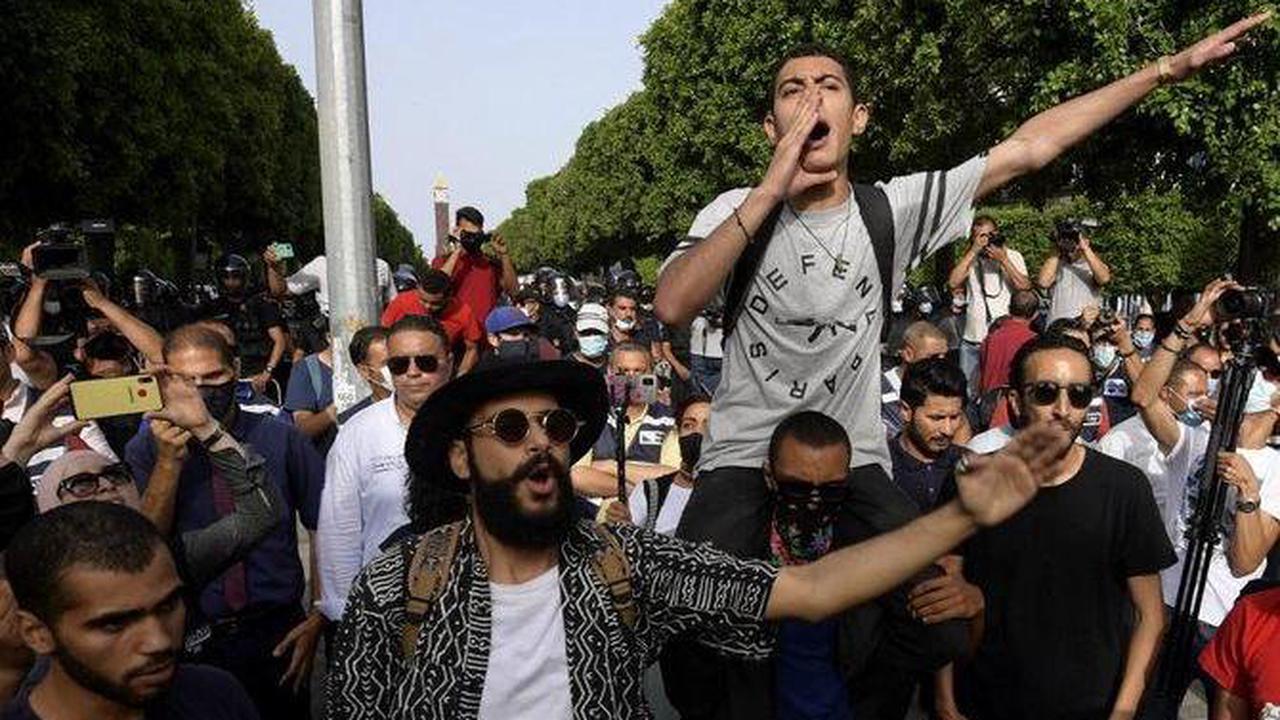 Manifestations à travers la Tunisie sur fond de crise économique et sanitaire
