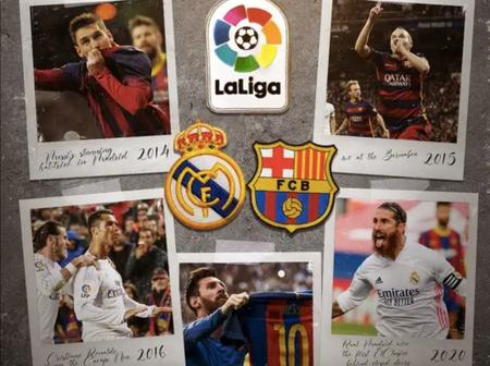 Real Madrid vrs FC Barcelona: El Classico 2021 Expectations(predictions) And live Stream Today