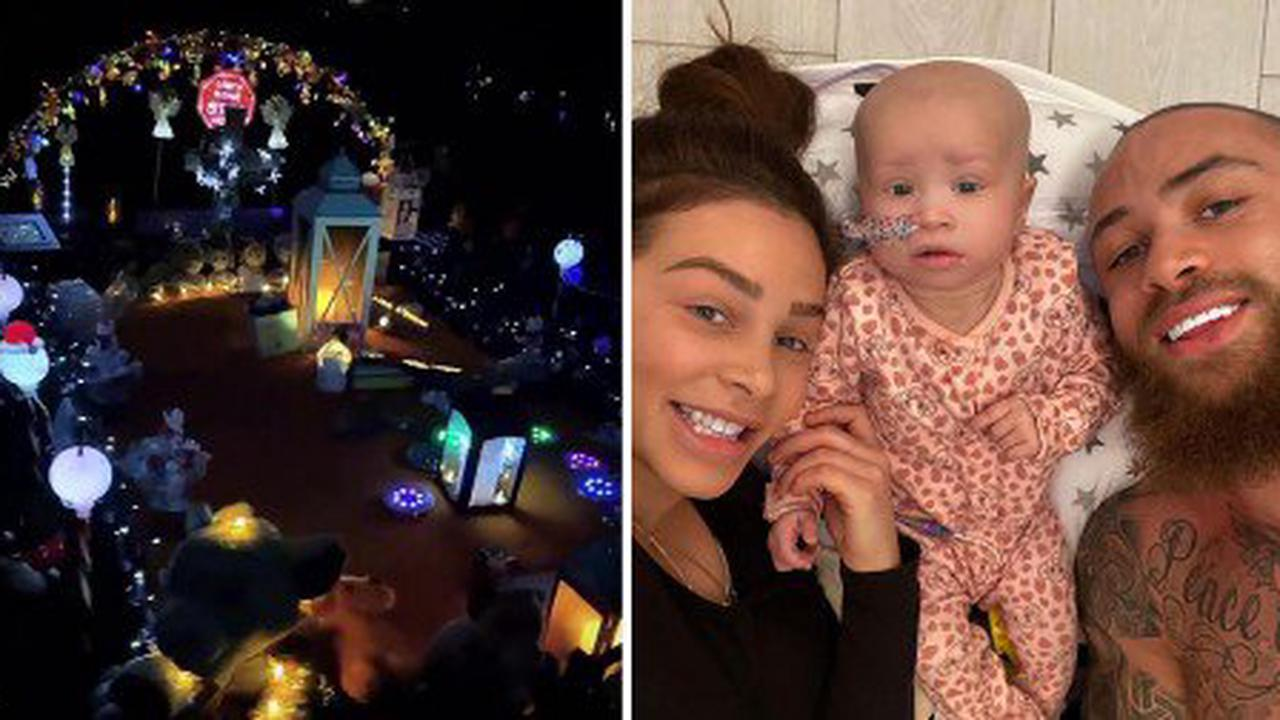 Ashley Cain's girlfriend in tears as baby loses movement in her face