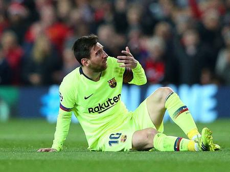 Lionel Messi almost refused to swap shirts against Man Utd after controversial incident