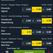 Tomorrow's 12 Analyzed Betika Midweek JP Matches With Amazing Odds