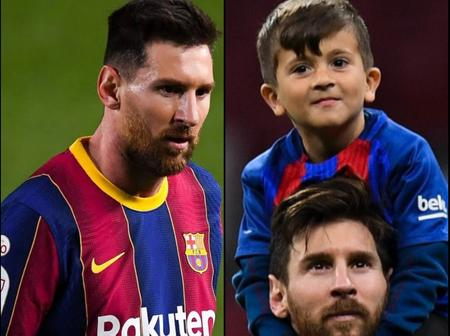Lionel Messi Is Blessed To Have Thaigo As His Son
