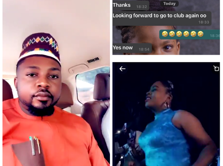 After Man Took His Wife To Club For The First Time, See What She Did To Him