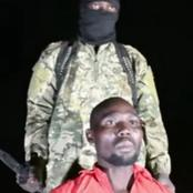 After Pastor Bulus Was Released From Boko Haram Captivity, See The First Thing He Said On Arrival