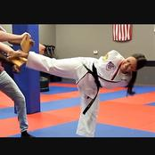 Meet The Lady Without Arms But Holds A Black Belt In The American Taekwondo Association